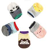 Aribelly Fashion Unique Baby Kid Socks Antiskid Toddler Cotton Low Socks