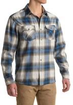 White Sierra Coyote Creek Plaid Shirt - Cotton Blend, Long Sleeve (For Men)