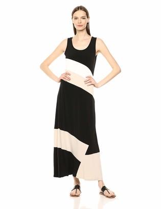 Calvin Klein Women's Color Block Maxi Dress