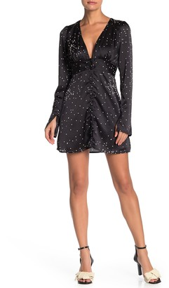 Line & Dot Lillian Dot Print Dress