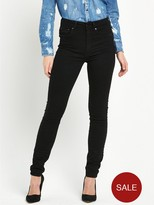 G Star 3301 Ultra High Skinny Jean - Ruby Black