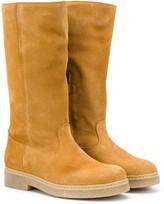Bonpoint tall zipper boots