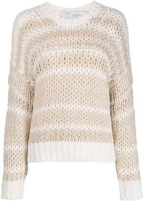 IRO Azalea striped jumper