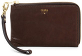Fossil Gwen Zip-Around Wristlet Wallet