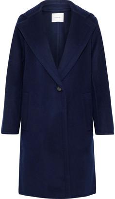 Vince Wool-blend Felt Hooded Coat