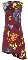 Marni Printed crêpe dress