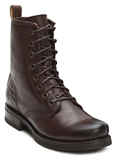 Frye Veronica Lace Up Combat Boots