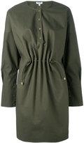 Kenzo tie-waist dressing - women - Cotton/Polyester - 34