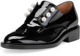 Givenchy Masculine Pearly Patent Loafer, Black