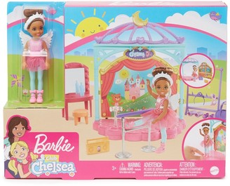 Mattel Barbie Club Chelsea(TM) Doll and Ballet Playset (6-in Brunette) with Accessories