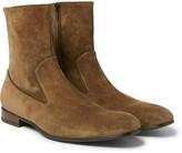 Alexander Mcqueen - Suede Boots