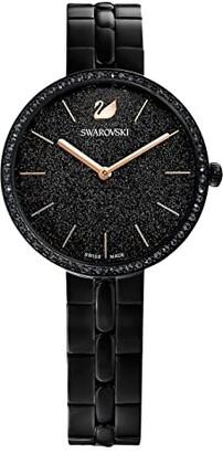 Swarovski Cosmopolitan Watch (Black) Watches