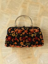 Free People Vintage Floral Tapestry Purse