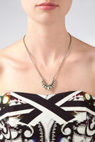 Pamela Love Small Tribal Spike Necklace in Antique Silver