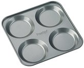Prestige Steel 4 Cup Yorkshire Pudding Tin - Silver