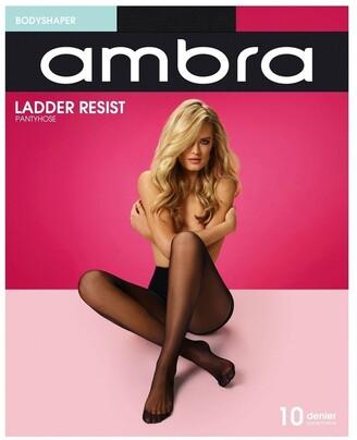 Ambra Ladder Resist Bodyshaper Pantyhose Black