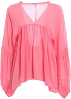 Dondup Manon Puff Sleeved Blouse
