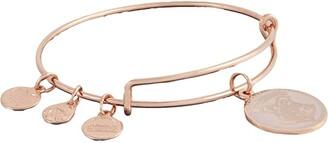 Alex and Ani Hogwarts Emblem Bangle Bracelet (Shiny Rose Gld) Bracelet