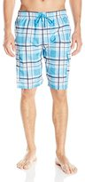 U.S. Polo Assn. Men's Large Plaid Cargo Shorts