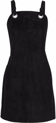 Rag & Bone Croft Knotted Suede Mini Dress