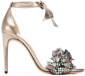 Alexandre Birman ankle strap embellished sandals