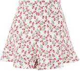 Topshop Limited Edition Print Shorts made from Liberty Fabric
