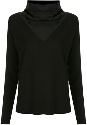 Uma | Raquel Davidowicz High-Neck Blouse