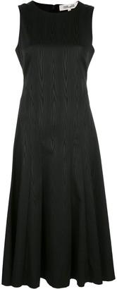 Dvf Diane Von Furstenberg Clemintine moire A-line dress