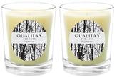 Qualitas Candles Espresso Beeswax Candles (Set of 2) (6.5 OZ)