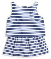 Ralph Lauren Toddler's, Little Girl's & Girl's Two-Piece Striped Top & Skirt Set
