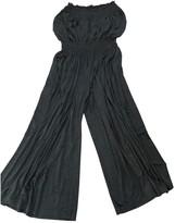 Norma Kamali Grey Jumpsuit for Women