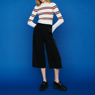 Maje Large pants in crepe