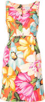 Milly coco floral print dress