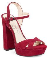 Jessica Simpson Naidine Platform Block Heel Sandals