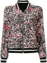 Zadig & Voltaire zipped bomber jacket
