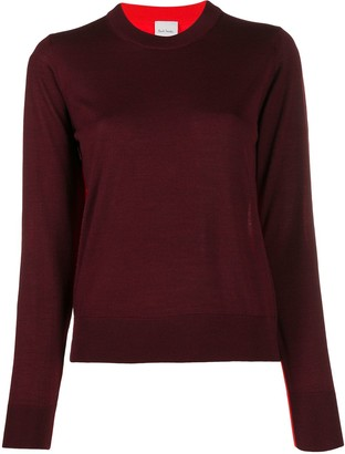 Paul Smith Contrasting Panel Sweater