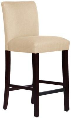 """Skyline Furniture 31"""" Bar Stool Upholstery: Linen Sandstone"""
