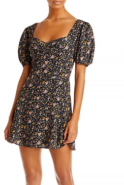 French Connection Delmira Floral Dress