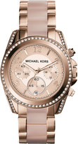 Michael Kors MK5943 Blair rose gold-toned watch