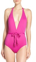 Seafolly Women's Halter One-Piece Swimsuit