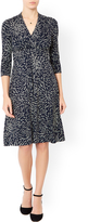 Monsoon Nadine Feather Print Dress
