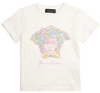 Versace Kids Studded Medusa T-Shirt (4-14 Years)
