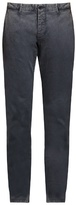 Tomas Maier Slim-fit brushed cotton-blend trousers