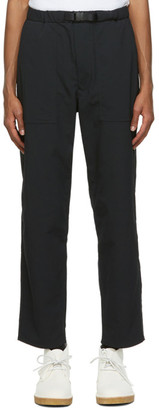 Nanamica Black AlphaDry Trousers