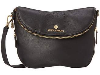 Vince Camuto Rizo Crossbody (Black) Cross Body Handbags