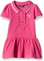 Gant Baby-Girls Sc. Girl Classic Ss Pique Plain Dress