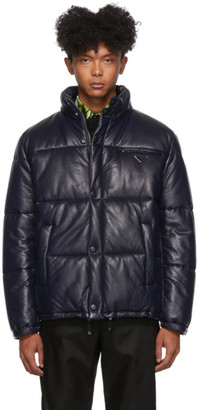 Prada Blue Padded Light Jacket