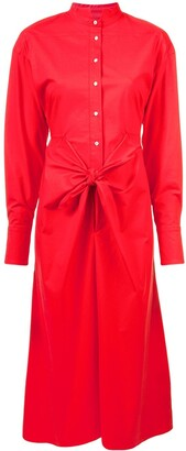 Proenza Schouler Tied Shirt Dress