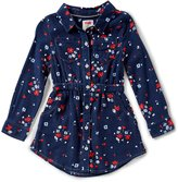 Levi's s Little Girls 2T-6X Floral Button-Down Dress