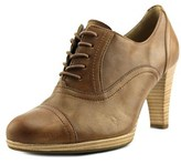 Gabor 55.222 Women Round Toe Leather Brown Oxford.